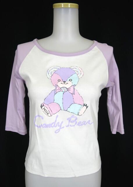 MILK Candy Bear ラグランカットソー
