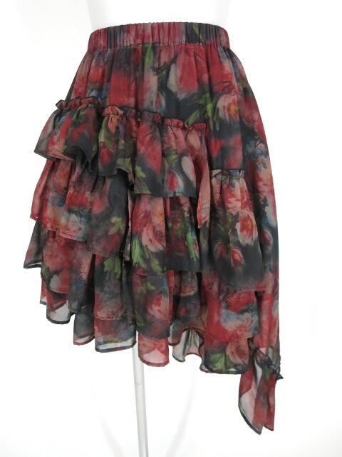 Sheglit Rose Gardenフリルスカート
