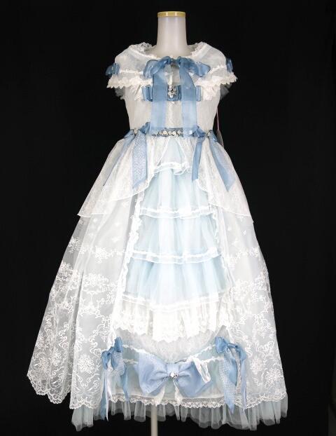 BABY, THE STARS SHINE BRIGHT Lady Lacy Plumeria ~あなたの幸せを願う花束~柄プリンセスジャンパースカート&ケ�...