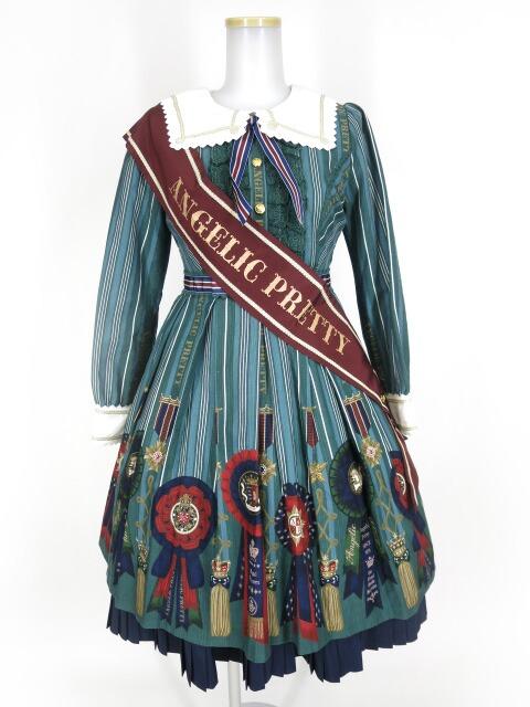Angelic Pretty Rosette Collectionワンピース(エシャルプ付き)