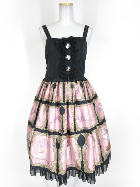 Enchantlic Enchantilly キャトラリージャンパースカート