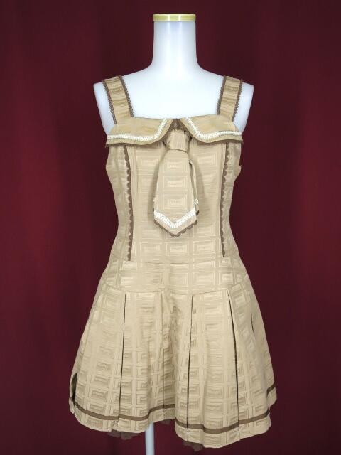 Angelic Pretty Royal Chocolate ローウエストジャンパースカート