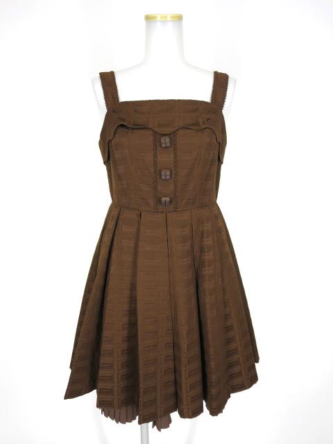 Angelic Pretty Royal Chocolate ジャンパースカート
