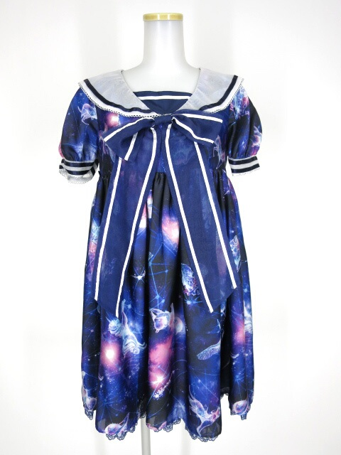 Angelic Pretty Dreamy Planetarium ワンピース&リボンクリップ