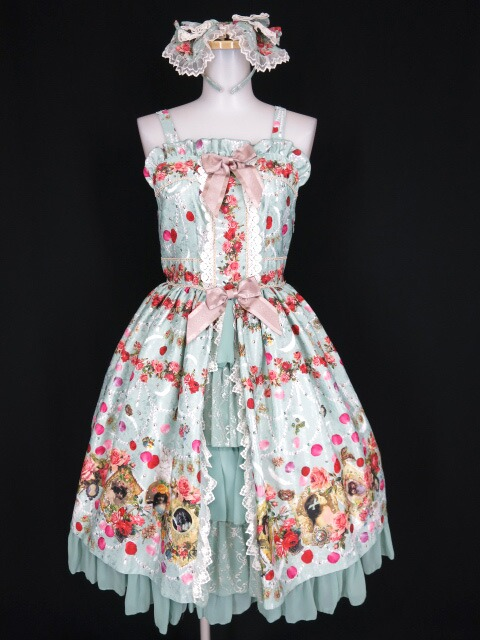 BABY, THE STARS SHINE BRIGHT Lady Victorian Rose Jewelry~想いは薔薇の花びらの上に~プリンセスジャンパースカ�...