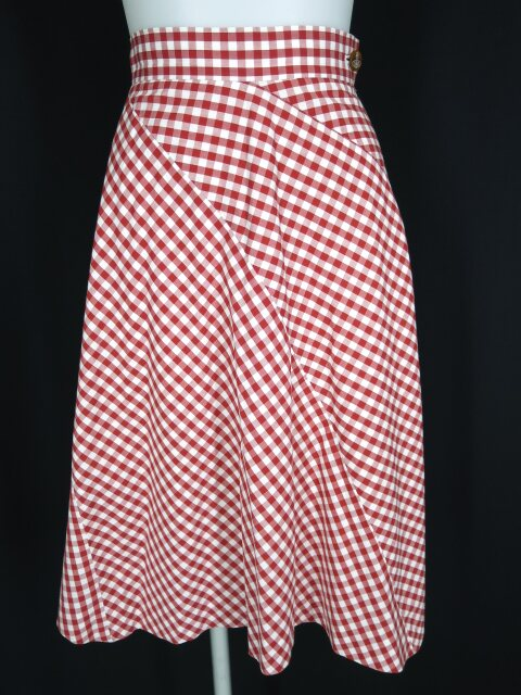 Vivienne Westwood RED LABEL ギンガムチェックスカート