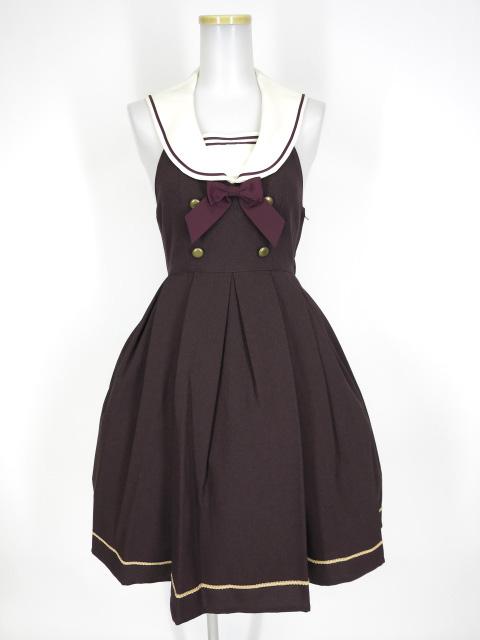 Innocent World 衿刺繍セーラージャンパースカート