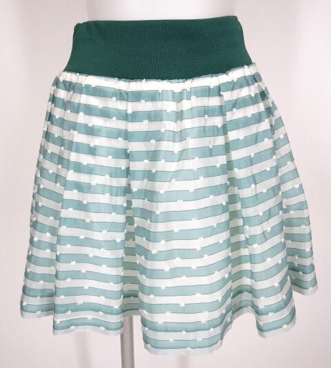 Jane Marple ボーダー柄スカート