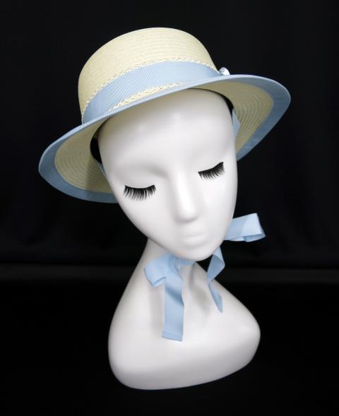 Innocent World ローズ付き麦わら帽子