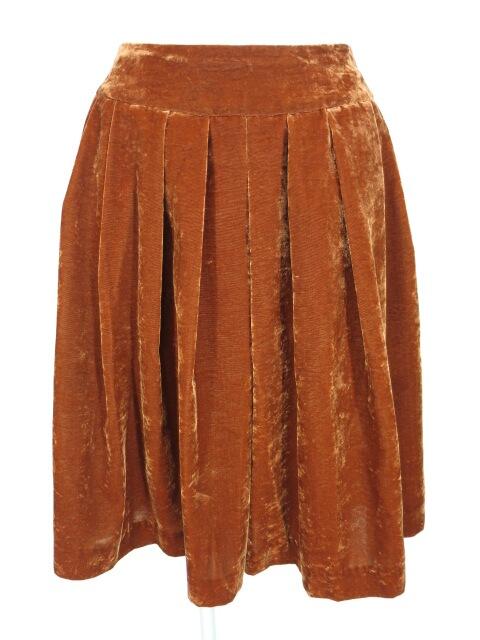 Jane Marple ベロアスカート