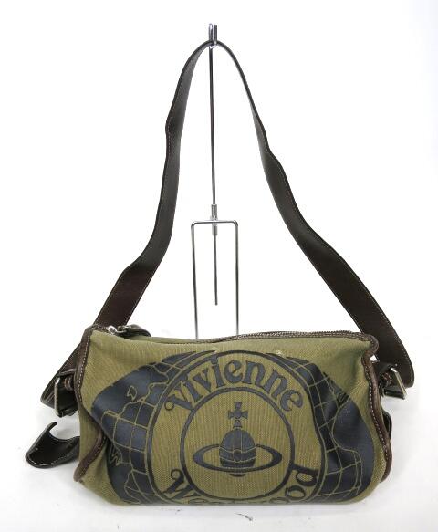 Vivienne Westwood ワールドオーブドラムバッグ
