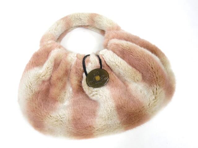 Vivienne Westwood フェイクファーハンドバッグ