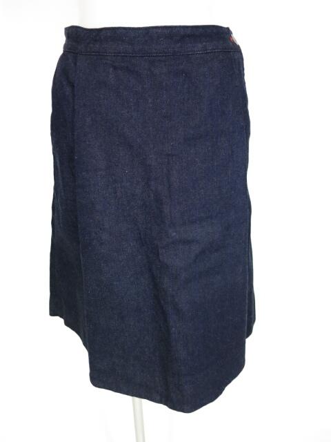 Vivienne Westwood RED LABEL オーブ刺繍デニムスカートパンツ