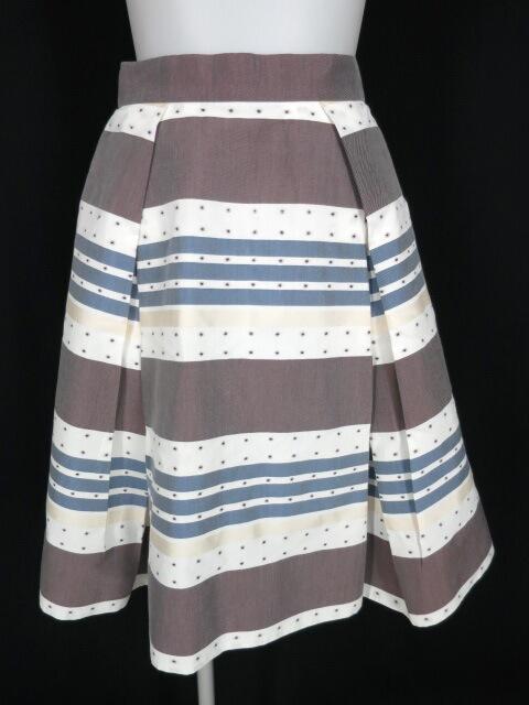 Vivienne Westwood RED LABEL ボーダー&ドット柄スカート