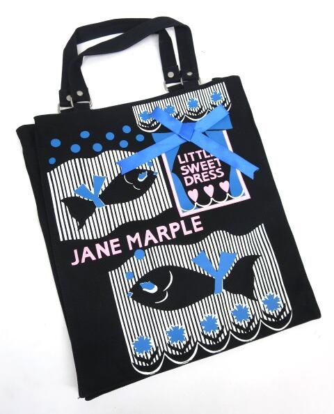 Jane Marple Miss Colette お魚トートバッグ