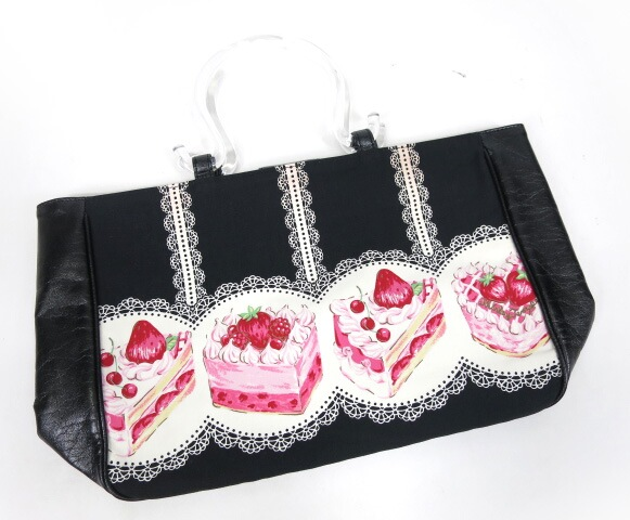 Shirley Temple ストロベリーケーキトートバッグ