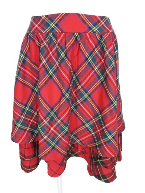 Jane Marple タータンチェック柄スカート