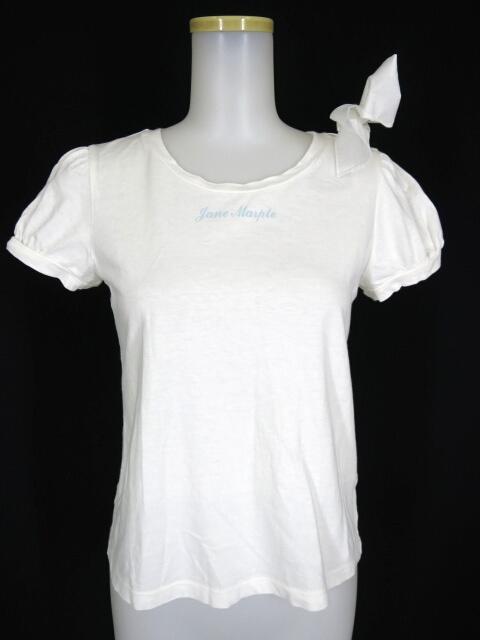 Jane Marple 袖リボン付きパフスリーブTシャツ