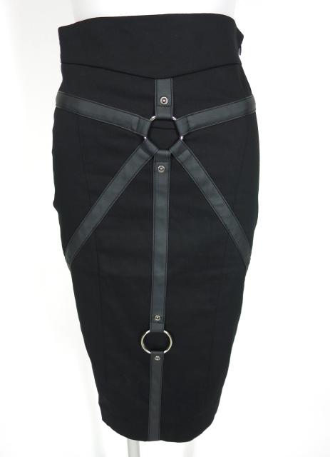 RESTYLE リングベルトデザインスカート