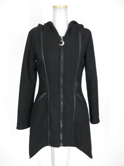 RESTYLE フード付き中綿入りコート
