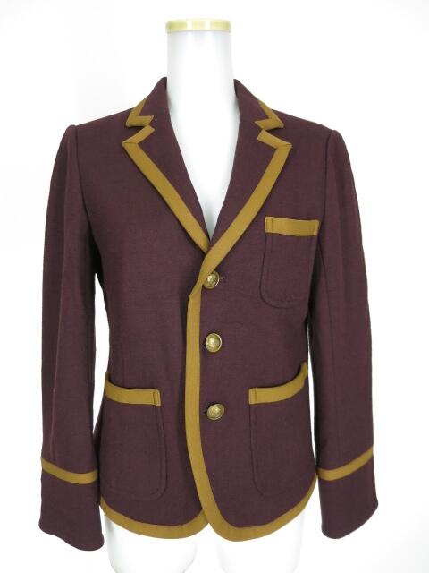 Jane Marple Dans Le Salon パイピングスクールジャケット