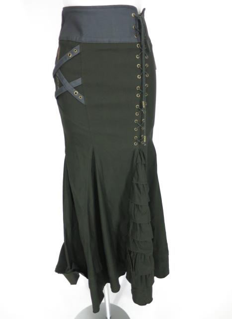 Rozen Kavalier フリル切替ロングスカート