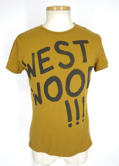 Vivienne Westwood MAN WESTWOOD!!!プリントTシャツ