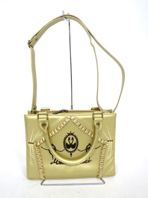 Metamorphose スワン カメオ刺繡BAG