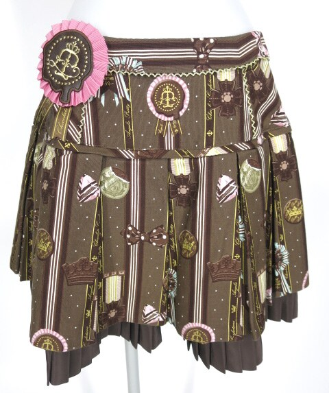 Angelic Pretty Chocolate Rosetteスカート