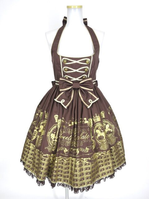 Angelic Pretty Royal Creamy Chocolate ジャンパースカート