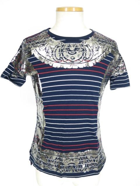 Vivienne Westwood MAN 額縁プリントボーダー柄半袖Tシャツ
