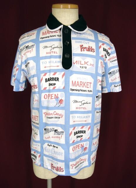MILKBOY TOWN ポロシャツ
