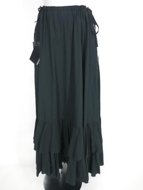 alice auaa 裾フリルガーゼロングスカート