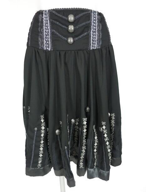 OZZ ONESTE メタルボタン付き2wayスカート