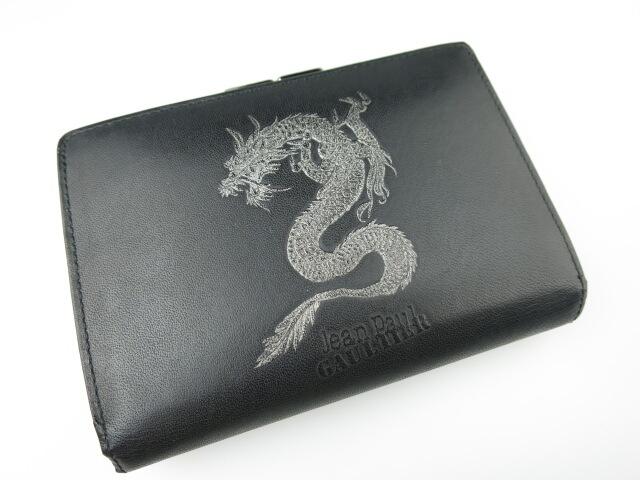 Jean Paul GAULTIER ドラゴン がま口折り財布