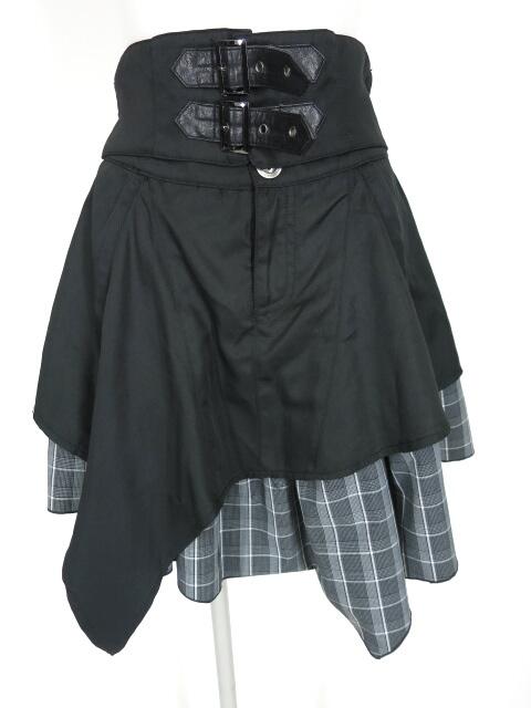 ALGONQUINS カマーベルトデザインレイヤーラップスカート