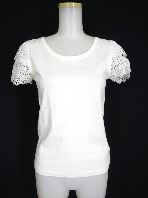 Jane Marple レース袖Tシャツ