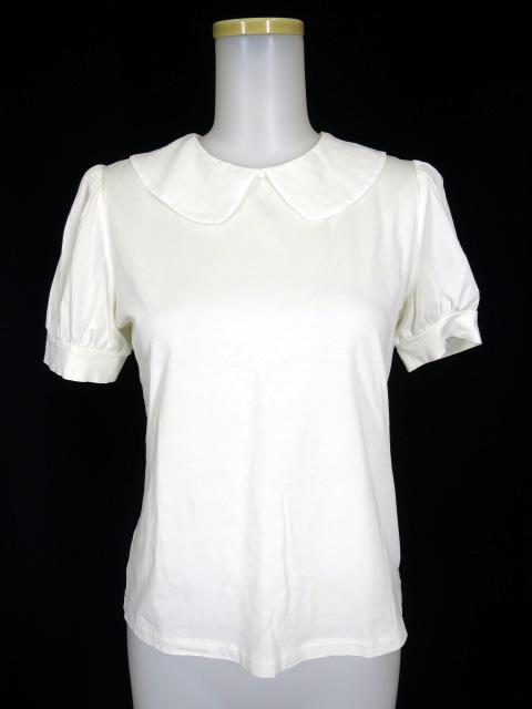 Jane Marple シフォン衿半袖カットソー