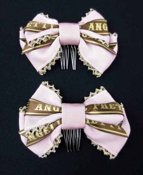 Angelic Pretty Melty Ribbon Chocolateリボンコーム