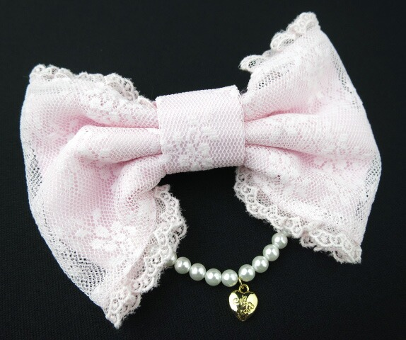Angelic Pretty Romanticパールリボンバレッタ