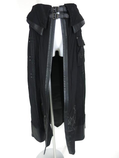 ozz conte ロングオーバースカート