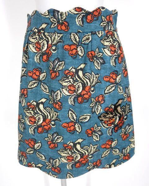 Jane Marple Dans le Salon mon petit tamia スカラップスカート