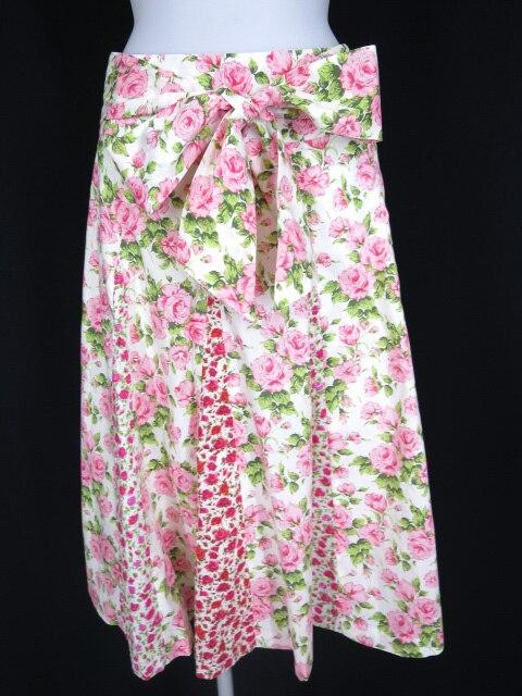 Jane Marple Dans le Salon リバティローズ柄スカート