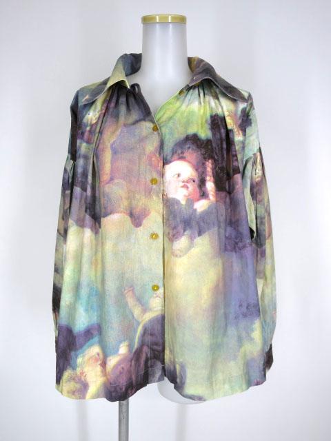 Vivienne Westwood プッティ柄ジャケットブラウス