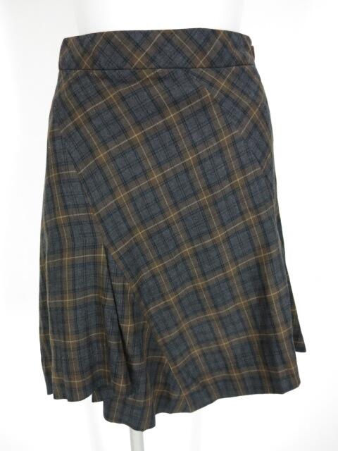 Vivienne Westwood RED LABEL チェック柄イレギュラーヘムスカート