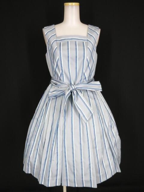 Jane Marple レジメンタルストライプのドレス