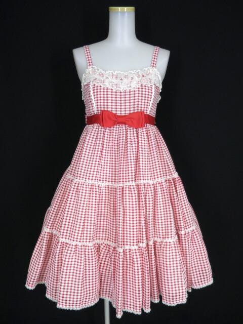 Angelic Pretty ホイップギンガムジャンパースカート