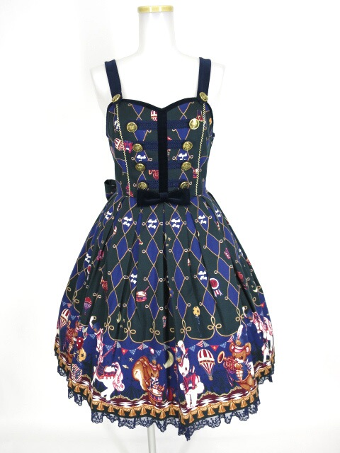 Angelic Pretty TOY MARCHジャンパースカート