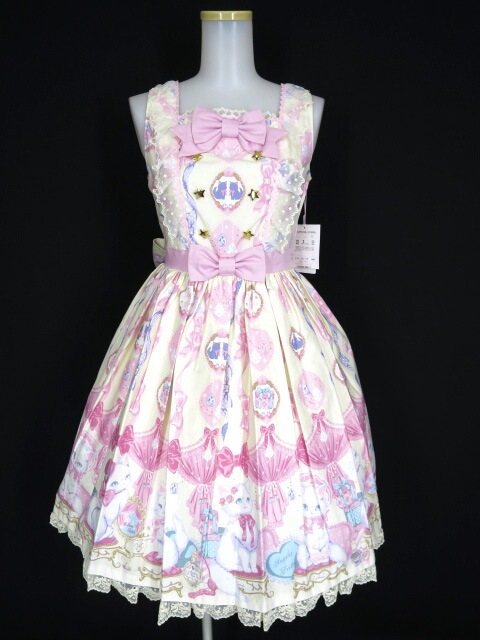Angelic Pretty Dolly Cat Special ジャンパースカートSet