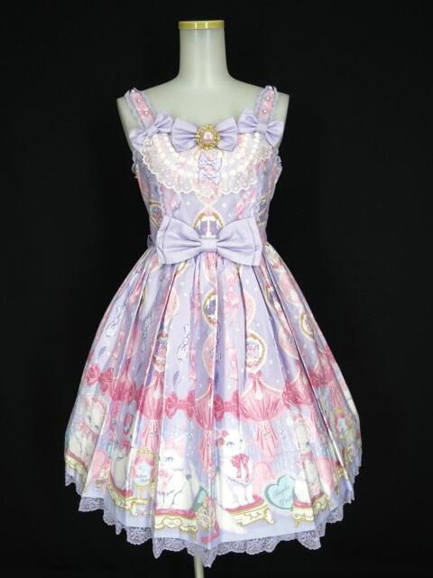Angelic Pretty Dolly Catジャンパースカート